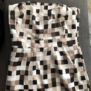 Banana Republic checkered dress